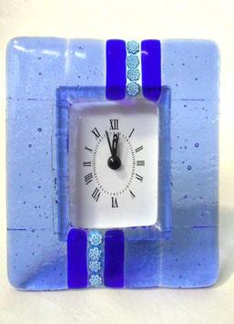 ベネチアンガラス置時計 SERENELLA   M   AA3090  Blue
