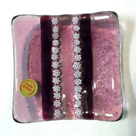 ベネチアンガラス飾皿A SERENELLA S   AA3082 Pink