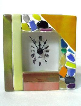 ベネチアンガラス置時計 VENEZIA   S   AA3319  Orange