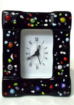 ベネチアンガラス置時計 PANTALON M    AA3205   Black