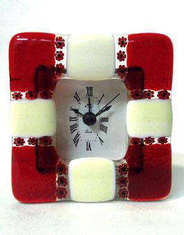 ベネチアンガラス置時計 DUCARE S    AA3046   Red