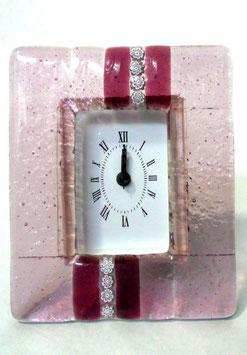 ベネチアンガラス置時計 SERENELLA   M   AA3090  Pink