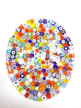 ベネチアンガラス飾皿E   COLORE   S     5455