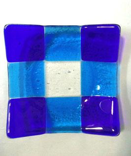 ベネチアンガラス飾皿A GIUDECCA M         AA3258 Blue