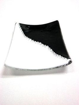 ベネチアンガラス飾皿D GIUSTINIAN S     5638