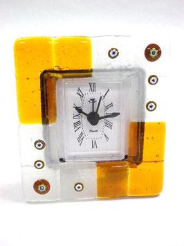 ベネチアンガラス置時計 TORCELLO S      AA3173 Orange