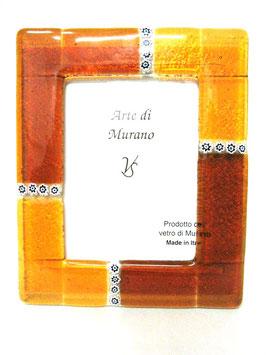 ベネチアンガラスフォトスタンド MURANO XL   AA3134 Orange