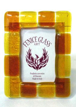 ベネチアンガラスフォトスタンド GIUDECCA  M   AA3252 Orange