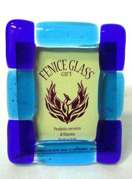 ベネチアンガラスフォトスタンド GIUDECCA  S    AA3251 Blue