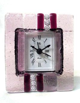 ベネチアンガラス置時計 SERENELLA   S   AA3090  Pink