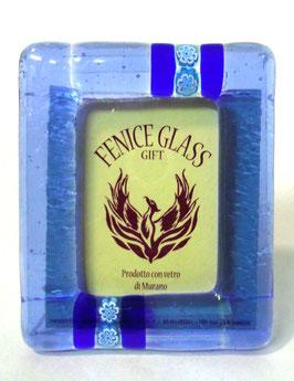 ベネチアンガラスフォトスタンド SERENELLA  S    AA3076 Blue