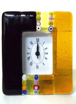 ベネチアンガラス置時計 CASANOVA M    AA3223   Orange