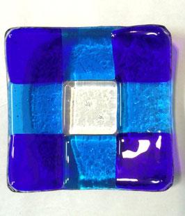 ベネチアンガラス飾皿A GIUDECCA S         AA3257 Blue