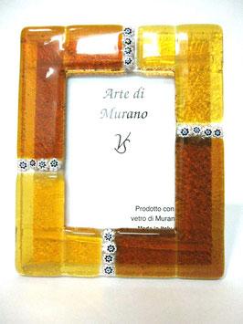 ベネチアンガラスフォトスタンド MURANO L   AA3133 Orange
