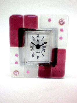 ベネチアンガラス置時計TORCELLO S     AA3173 Purple