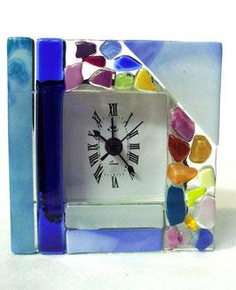 ベネチアンガラス置時計 VENEZIA   S   AA3319  Blue
