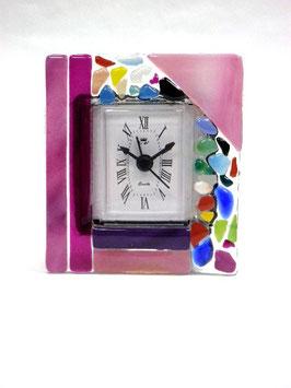 ベネチアンガラス置時計 VENEZIA   S   AA3319 Pink