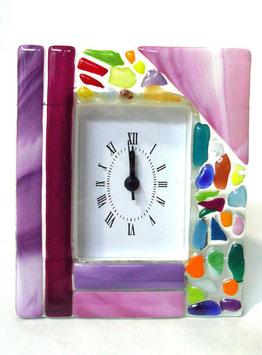 ベネチアンガラス置時計 VENEZIA  M   AA3320 Pink
