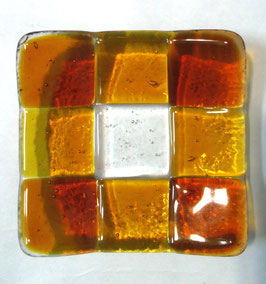 ベネチアンガラス飾皿A GIUDECCA S         AA3257 Orange
