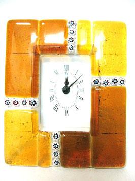ベネチアンガラス置時計 MURANO M           AA3154 Orange