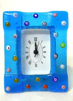ベネチアンガラス置時計 FREZZERIA M            AA3030 Blue