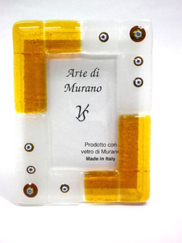 ベネチアンガラスフォトスタンド TORCELLO  M   AA3174 Orange
