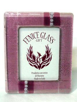 ベネチアンガラスフォトスタンド SERENELLA  XL   AA3079 Pink