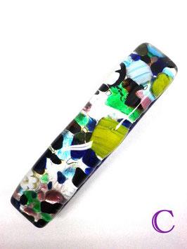 ベネチアンガラス ヘアアクセサリー   スクウェア C
