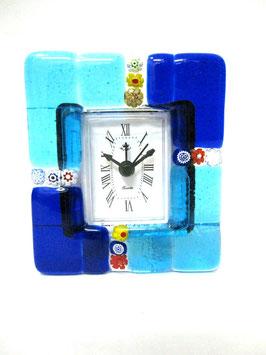 ベネチアンガラス置時計 MURANO S            AA3153 Blue