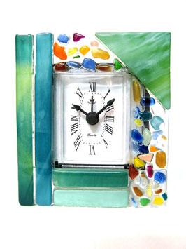 ベネチアンガラス置時計 VENEZIA   S   AA3319  Green