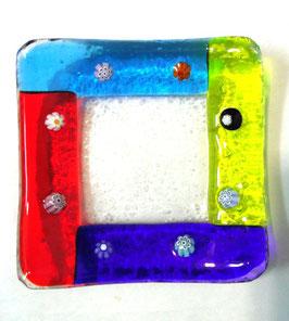 ベネチアンガラス飾皿A FRARI S         AA3004 Multi