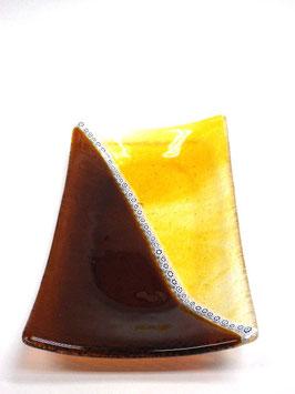 ベネチアンガラス飾皿D  GIUSTINIAN M    5639