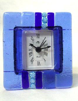 ベネチアンガラス置時計 SERENELLA   S   AA3090  Blue