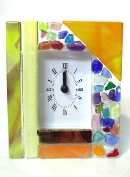 ベネチアンガラス置時計 VENEZIA  M   AA3320 Orange