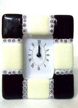 ベネチアンガラス置時計 DUCARE M    AA3047   Black