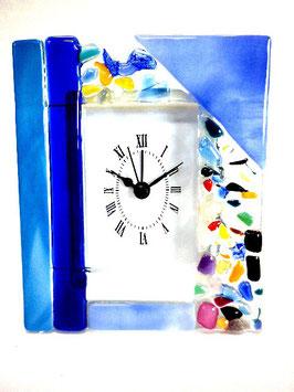 ベネチアンガラス置時計 VENEZIA M      AA3320  Blue