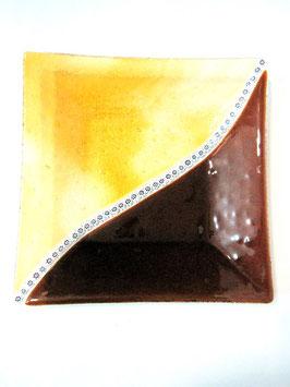 ベネチアンガラス飾皿E  GIUSTINIAN M     5643