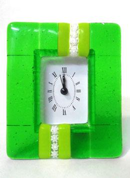 ベネチアンガラス置時計 SERENELLA   M   AA3090  Green