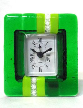 ベネチアンガラス置時計 SERENELLA   S   AA3090  Green