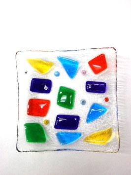 ベネチアンガラス飾皿A NAVAGERO M        AA3125