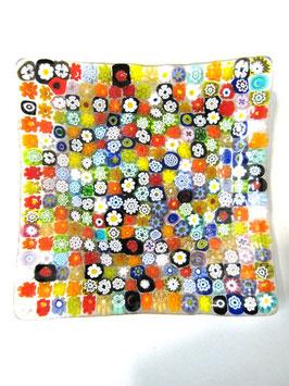 ベネチアンガラス飾皿A   COLORE   M     5454