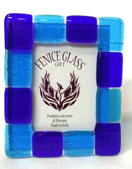 ベネチアンガラスフォトスタンド GIUDECCA  L    AA3253 Blue