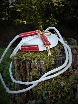 Longues rênes - Cuir et Nylon