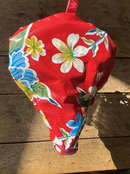 Sattel-Cover | rot | Blüten