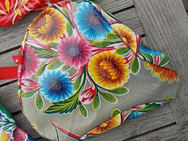 Sattel-Cover | gold | Blüten