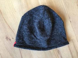 Wollmütze | Jersey-Futter