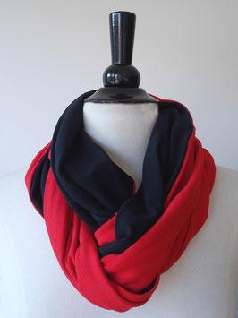 Jersey | rot | schwarz