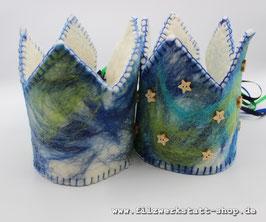 Geburtstagskrone  Blau/Grün  2 Varianten