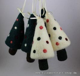 Weihnachtsbäumchen zum Hängen