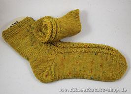 """""""Herzrippen-Tweed""""-Socke   Größe 38/39 /40"""
